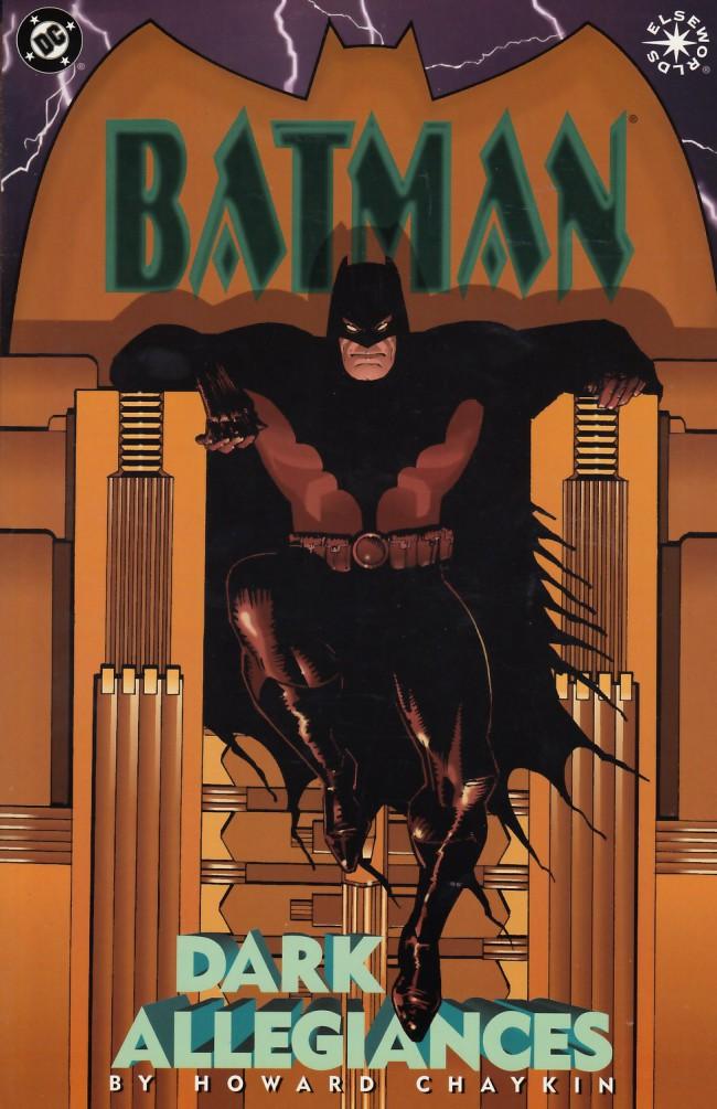 Couverture de Batman (One shots - Graphic novels) -OS- Batman: Dark allegiances