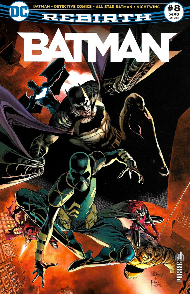 Couverture de Batman Rebirth (DC Presse) -8- Tome 8