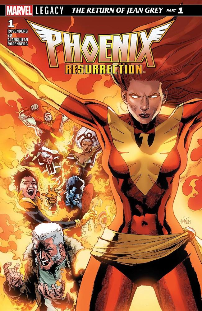 Couverture de Phoenix: Resurrection: The Return Of Jean Grey -1- Chapter One: Frustrate the Sun