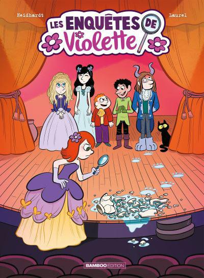 Couverture de Les enquêtes de Violette -3- Tome 3