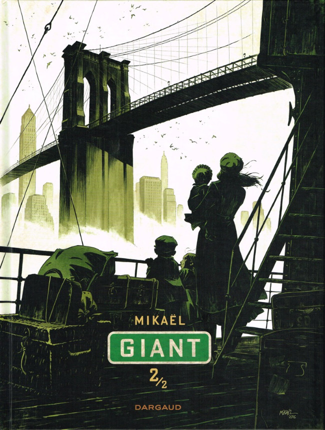 Couverture de Giant -2- Giant 2/2