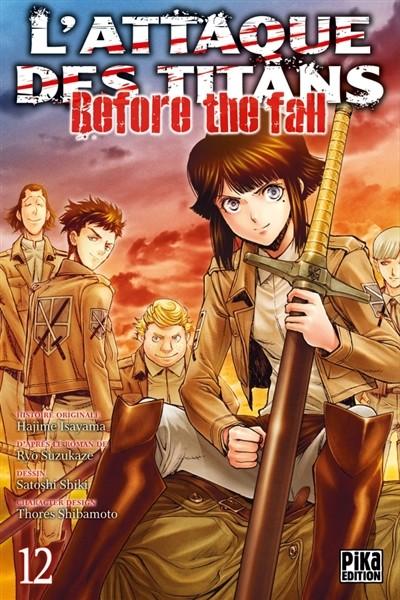 Couverture de L'attaque des Titans - Before The Fall -12- Tome 12