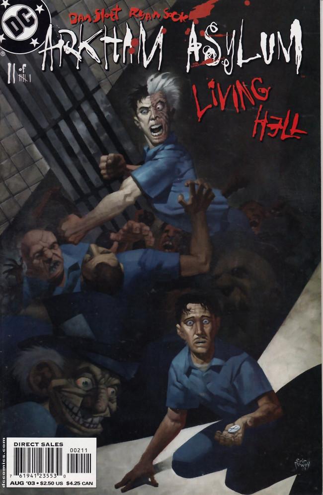 Couverture de Arkham Asylum: Living Hell (2003) -2- Bits and pieces