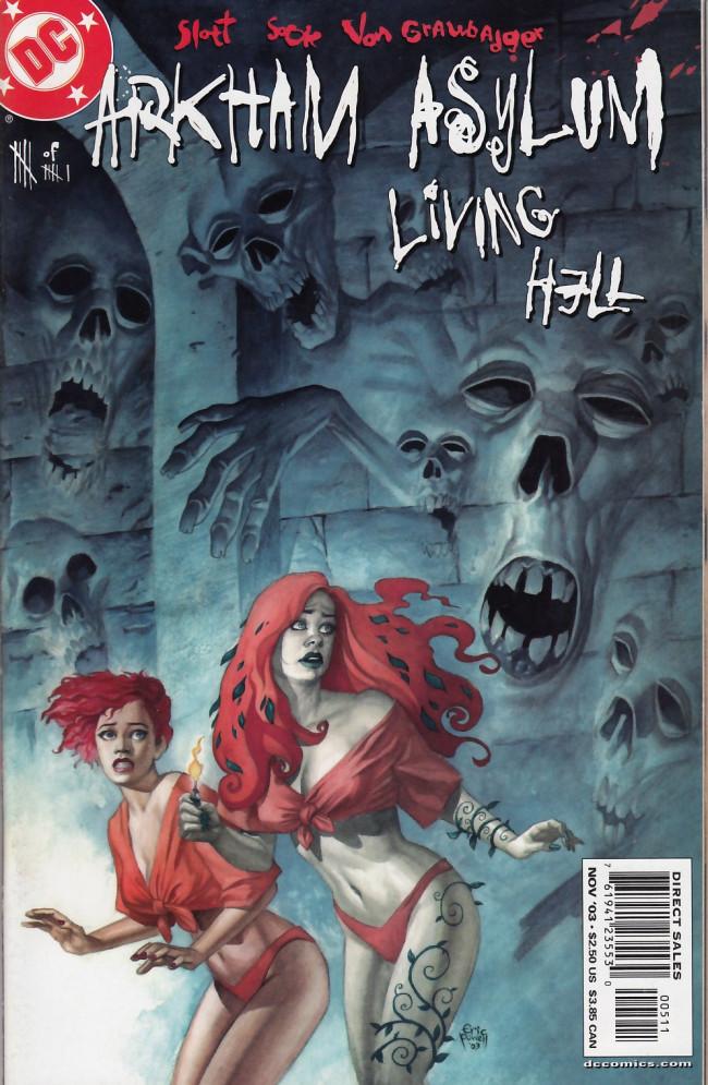 Couverture de Arkham Asylum: Living Hell (2003) -5- Patterns