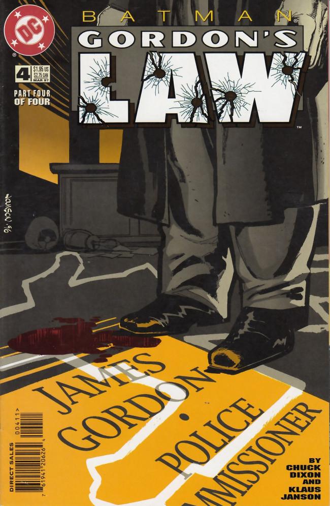 Couverture de Batman: Gordon's Law (1996) -4- The broken men