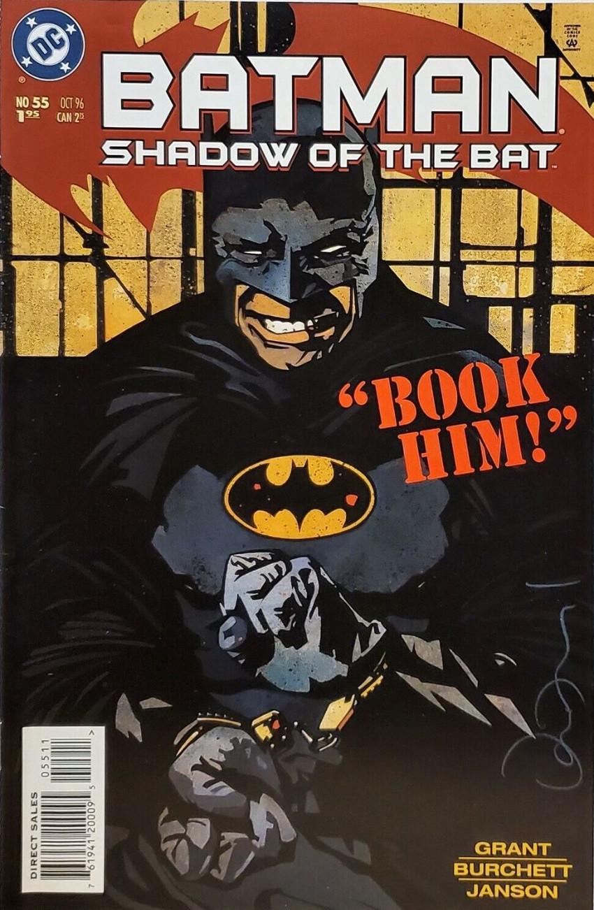 Couverture de Batman: Shadow of the Bat (1992) -55- Standard operating procedure