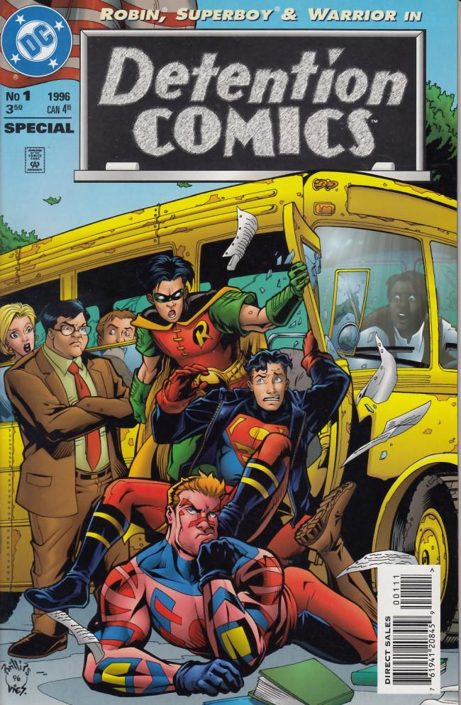 Couverture de Detention comics - Tome 1
