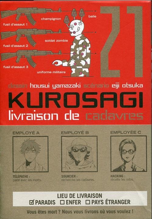 Couverture de Kurosagi, livraison de cadavres -21- Volume 21