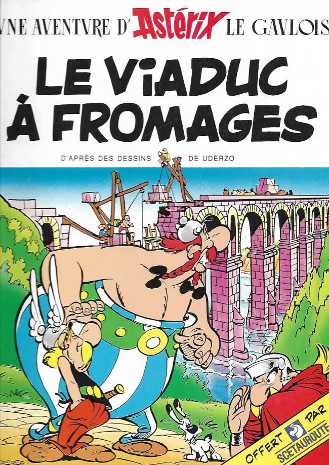 Couverture de Astérix (Publicitaire) -Scétaurout- Le Viaduc à fromages