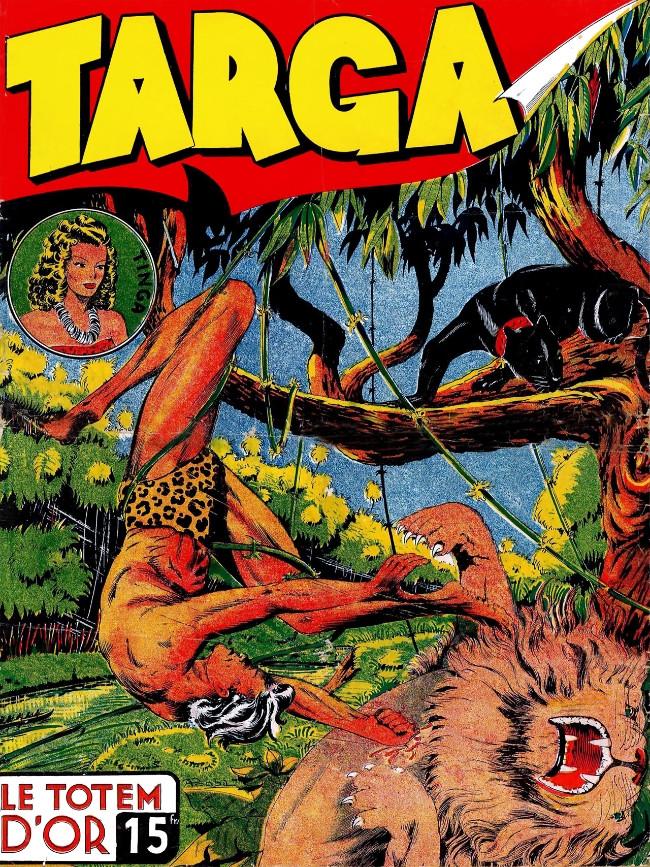 Couverture de Targa -1- Le totem d'or