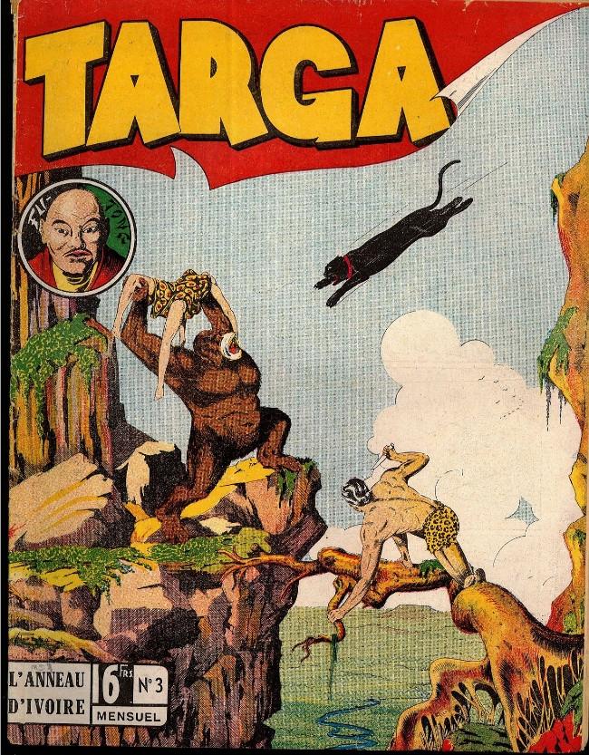Couverture de Targa -3- L'anneau d'ivoire