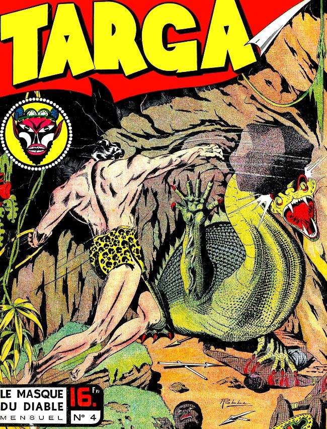 Couverture de Targa -4- Le masque du Diable
