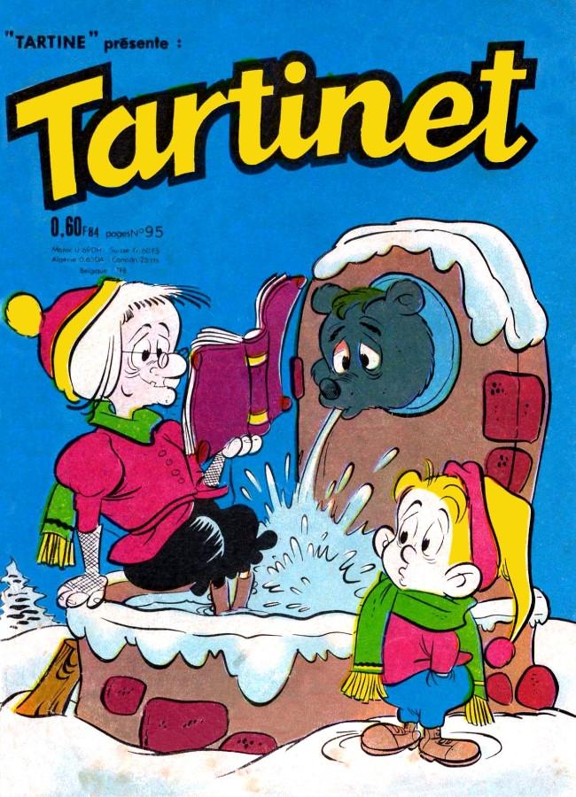 Couverture de Tartinet -95- Les joies de la montagne