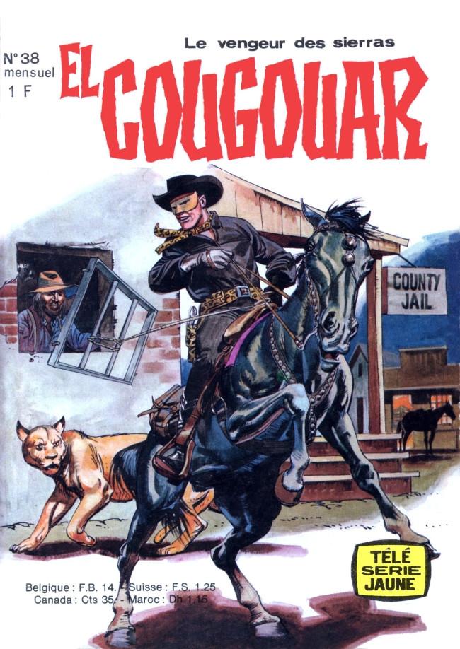 Couverture de Télé série jaune (Au nom de la loi) -38- El Cougouar - L'ombre de la potence