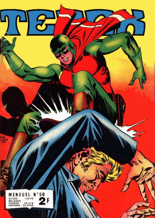 Couverture de Tenax -50- La colère des mutants