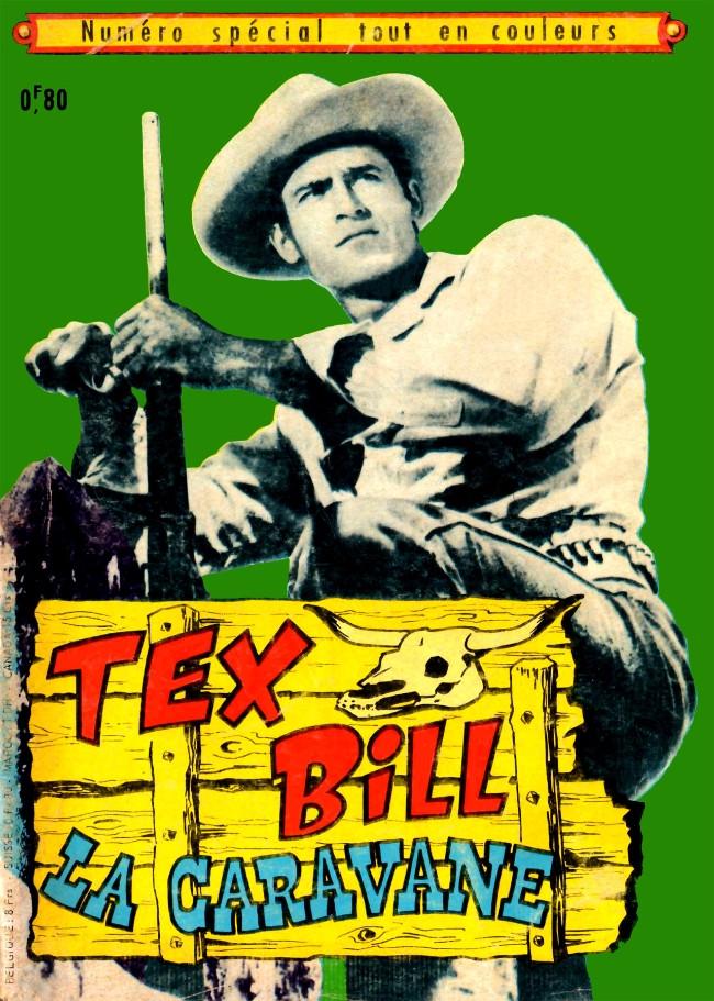 Couverture de Tex Bill -SP08- Spécial 3-69 - La caravane