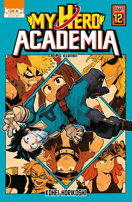 Couverture de My Hero Academia -12- L'examen