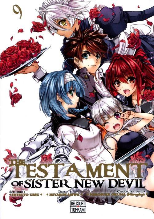 Couverture de Testament of Sister New Devil (The) -9- Tome 9