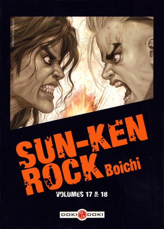 Couverture de Sun-Ken Rock -INT09- Volumes 17 & 18