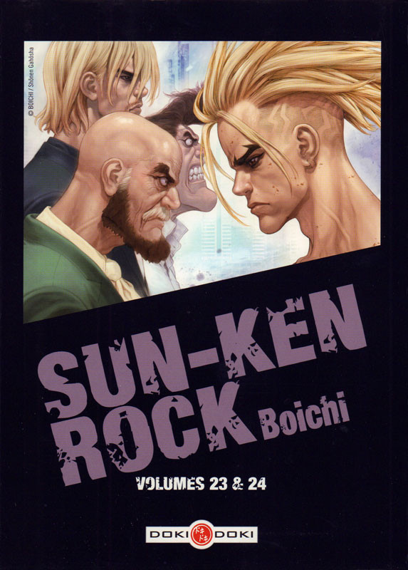 Couverture de Sun-Ken Rock -INT12- Volumes 23 & 24