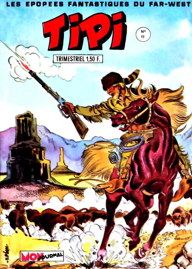 Couverture de Tipi -11- Pecos Bill - Trois coups de feu dans la nuit