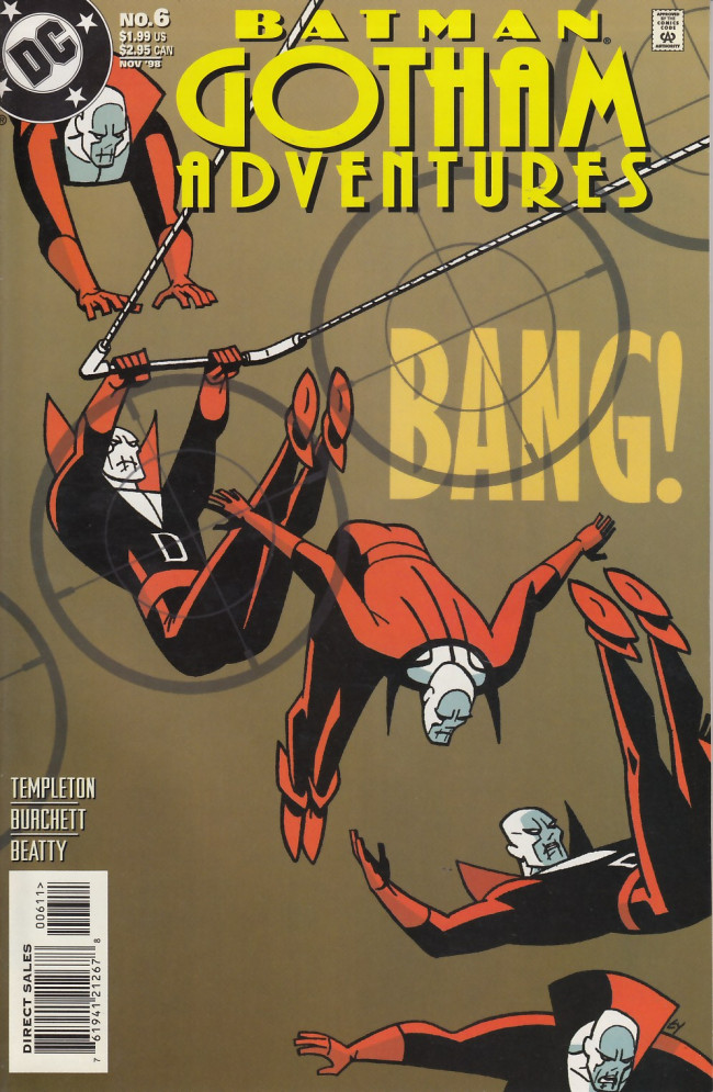 Couverture de Batman adventures: Gotham adventures (1998) -6- Last chance