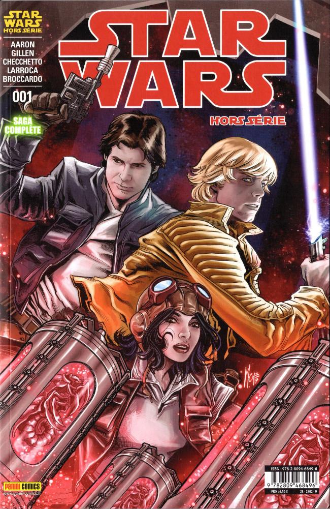 Couverture de Star Wars (Panini Comics - 2017) -HS1- La Citadelle hurlante