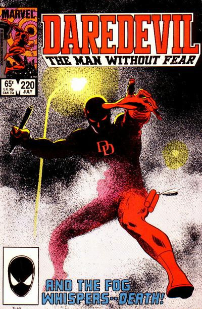 Couverture de Daredevil Vol. 1 (Marvel - 1964) -220- And the fog whispers..death!