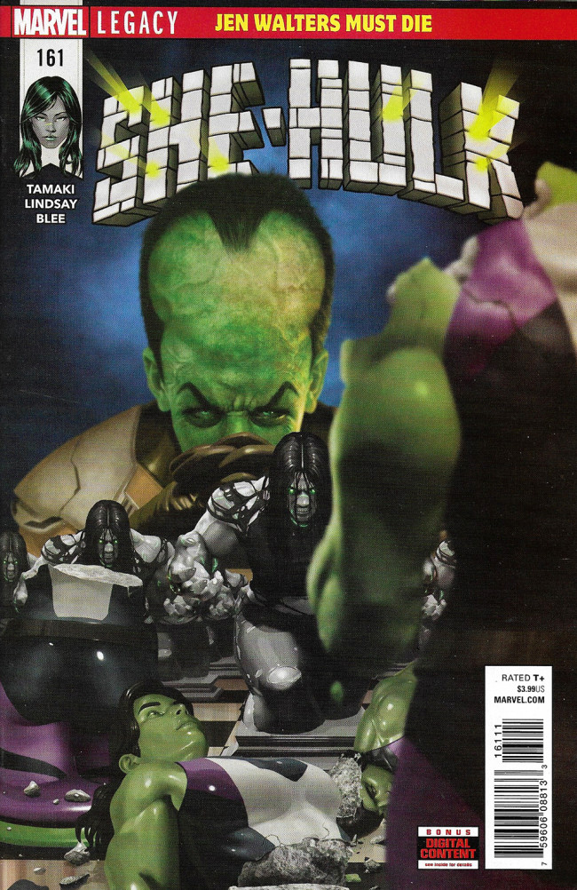 Couverture de She-Hulk (2017) -161- Jen Walters Must Die Part 3