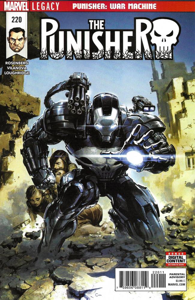 Couverture de Punisher (2016) (The) -220- Punisher: War Machine Part 3