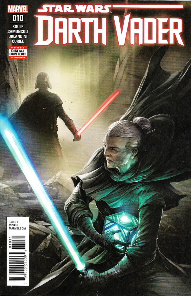 Couverture de Darth Vader (2017) -10- The Dying Light Part IV
