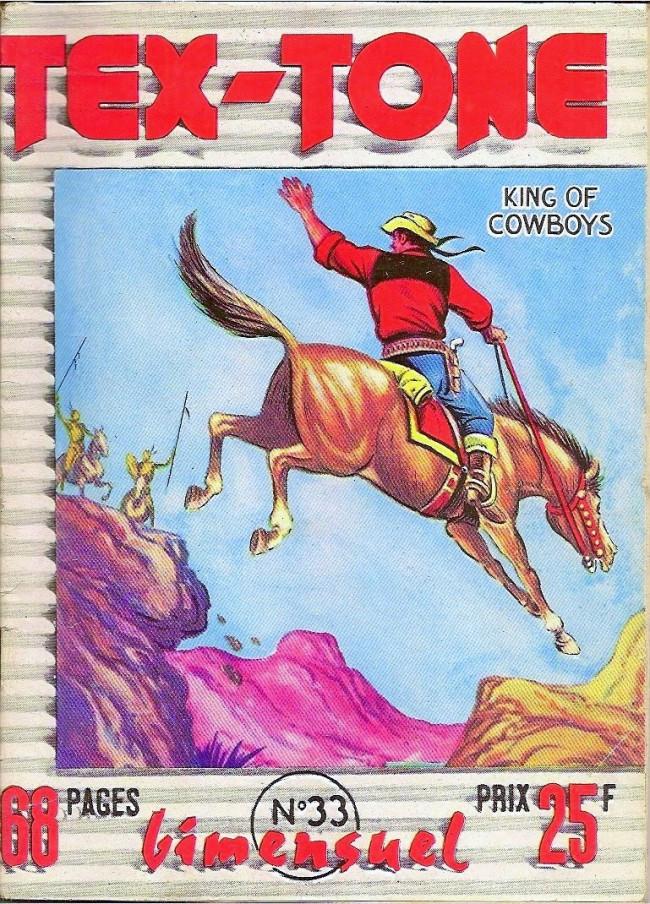 Couverture de Tex-Tone -33- Tex-Tone et le prophète
