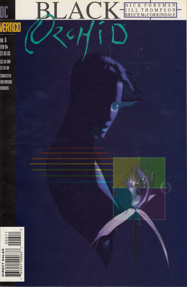 Couverture de Black Orchid (1993) -6- The god in the cage