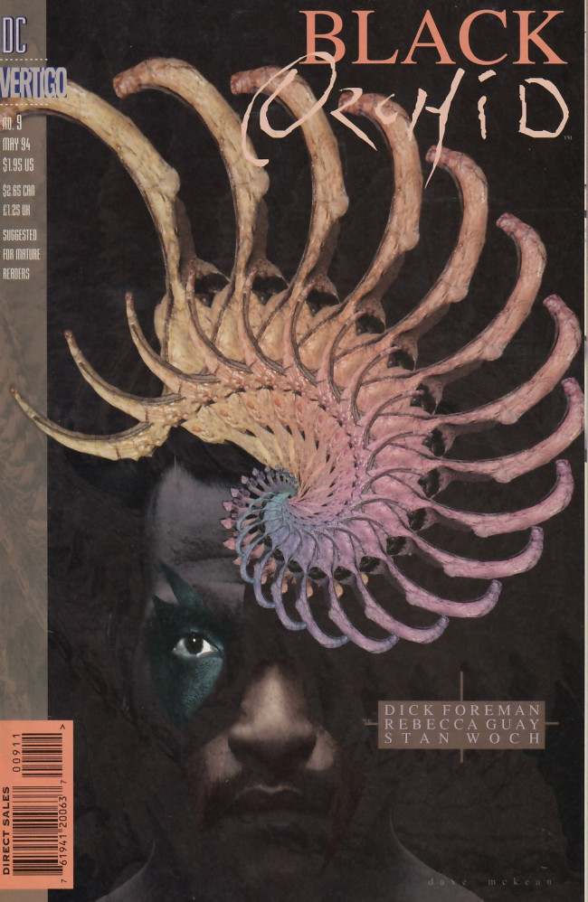 Couverture de Black Orchid (1993) -9- The murmuring of mist, the whisper of flowers