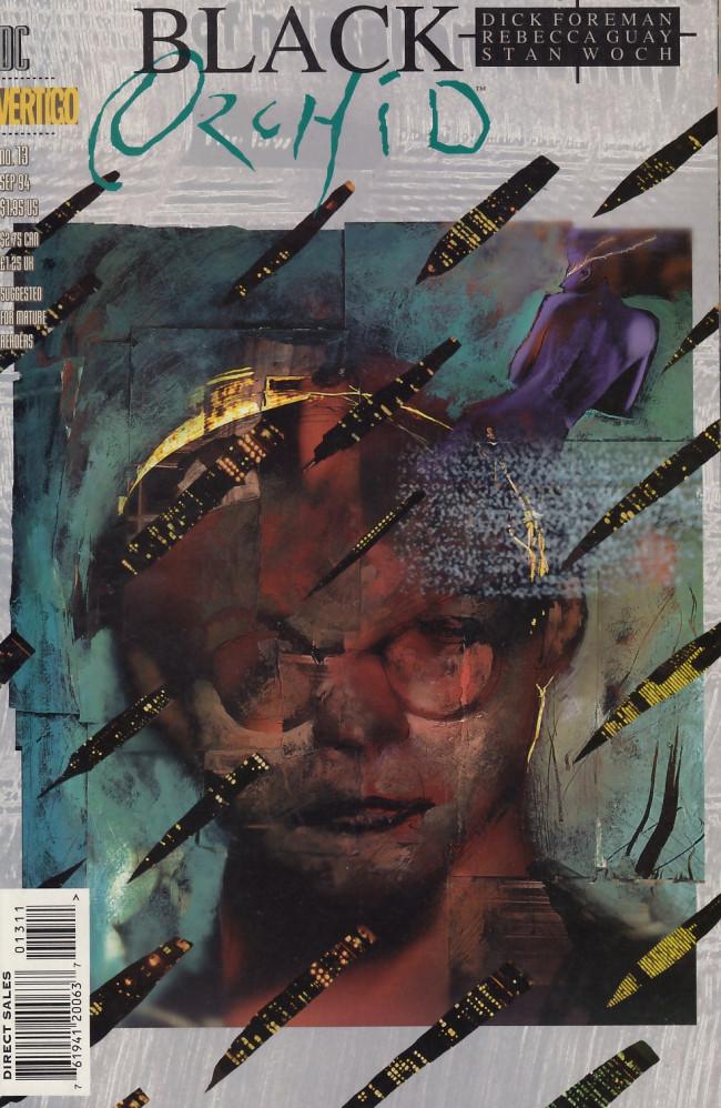 Couverture de Black Orchid (1993) -13- Meta-therapy
