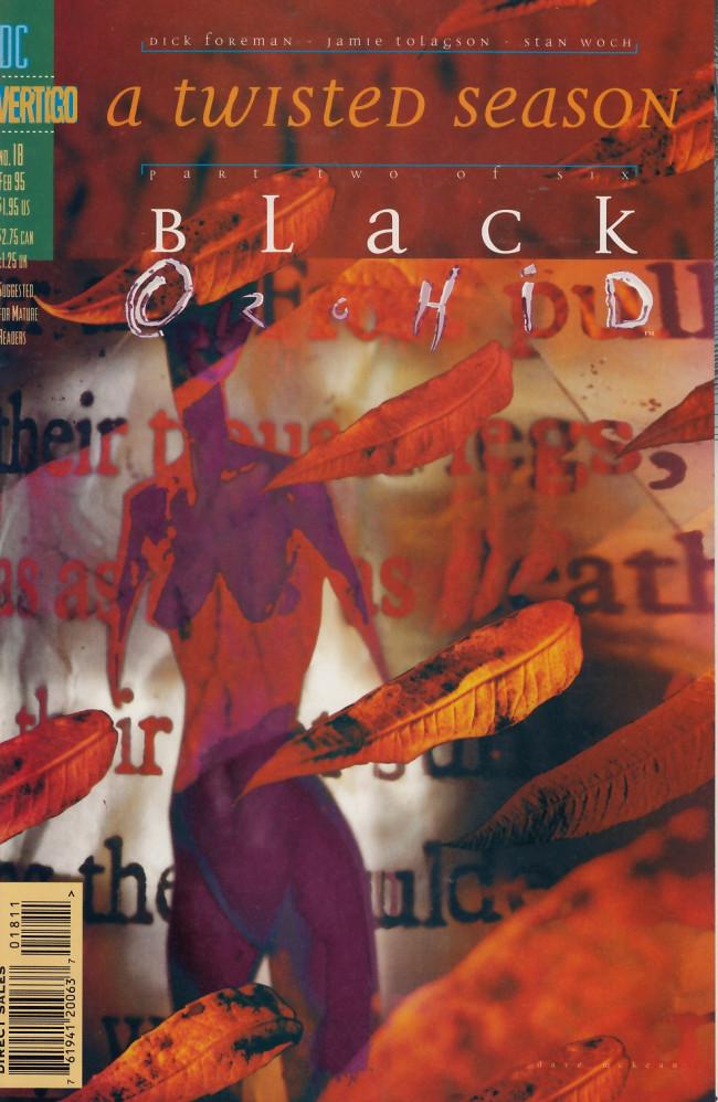 Couverture de Black Orchid (1993) -18- A twisted season part two - Finality flower