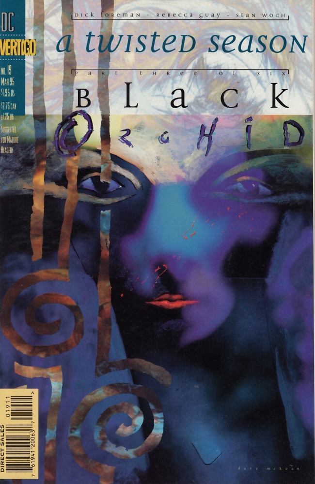 Couverture de Black Orchid (1993) -19- A twisted season part three - To dream of the dead