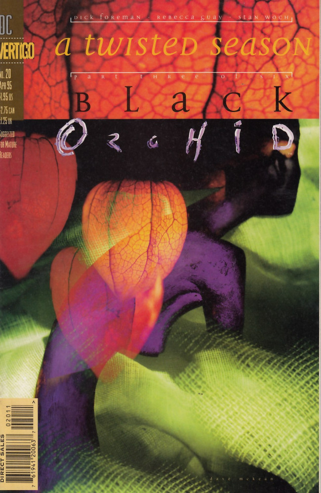 Couverture de Black Orchid (1993) -20- A twisted season part four - Suzy and the mask of God