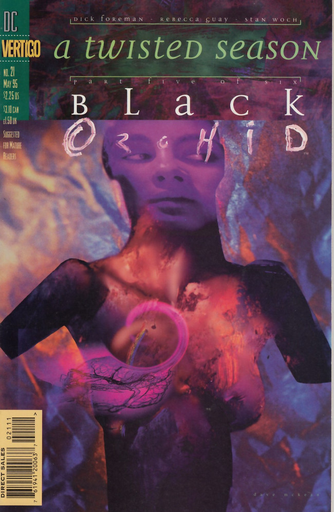 Couverture de Black Orchid (1993) -21- A twisted season part five - The last days