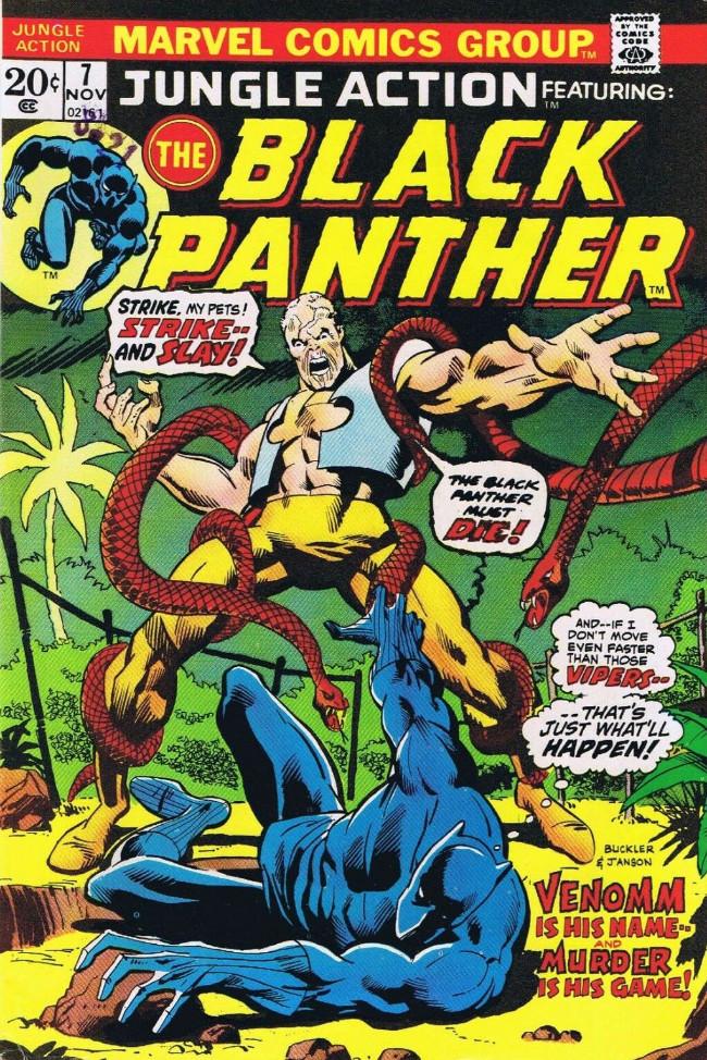 Couverture de Jungle Action Vol.2 (Marvel - 1972) -7- Death regiments beneath Wakanda