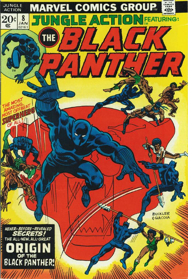 Couverture de Jungle Action Vol.2 (Marvel - 1972) -8- Malice by crimson moonlight