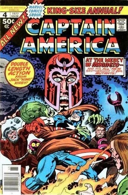 Couverture de Captain America (1968) -AN04- The great mutant massacre!
