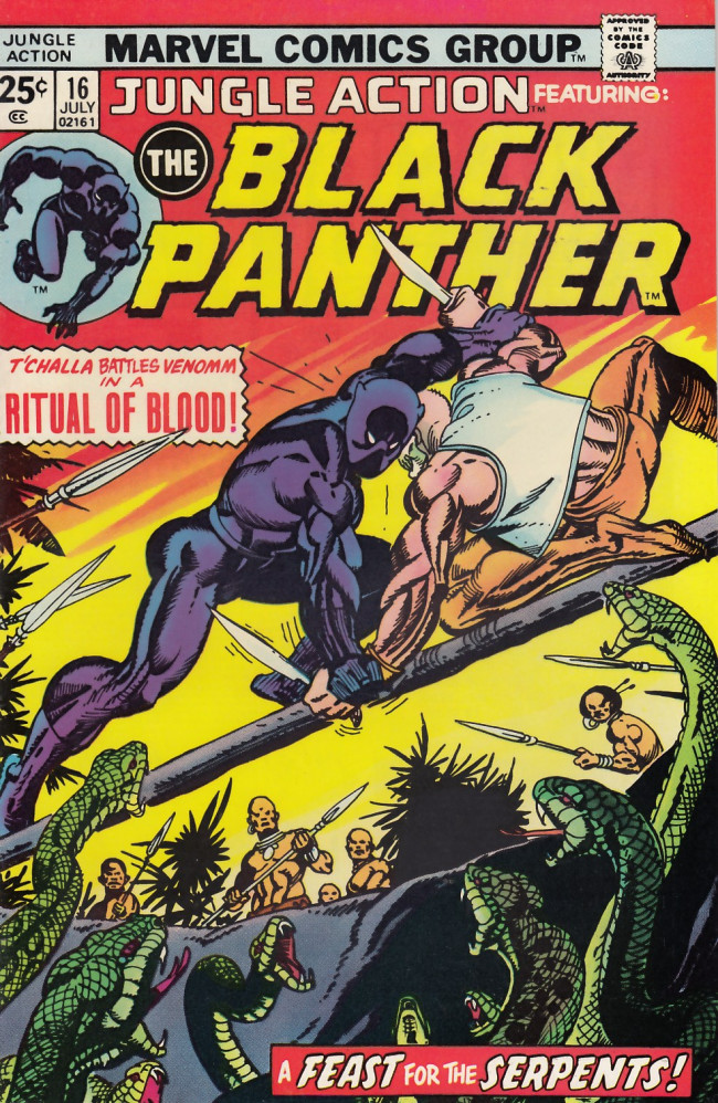 Couverture de Jungle Action Vol.2 (Marvel - 1972) -16- And all our past decades have seen revolutions