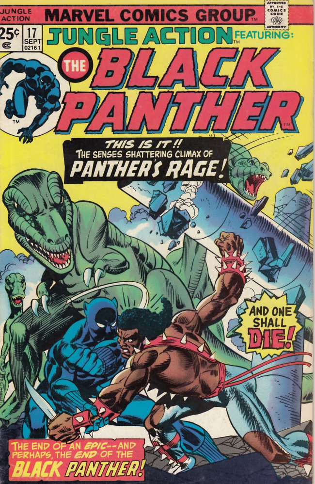 Couverture de Jungle Action Vol.2 (Marvel - 1972) -17- Of shadows and rages