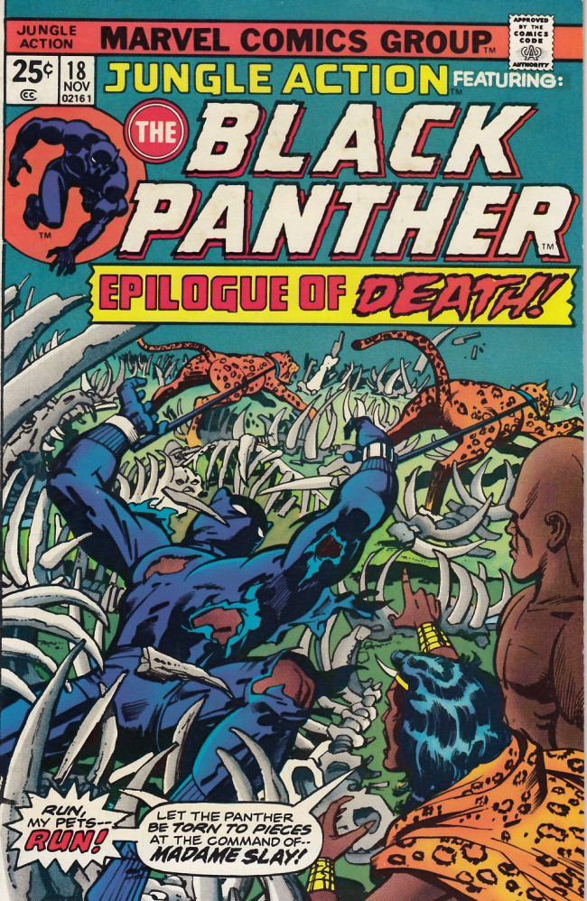 Couverture de Jungle Action Vol.2 (Marvel - 1972) -18- Epilogue