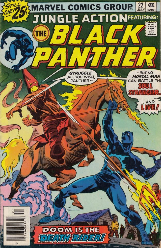 Couverture de Jungle Action Vol.2 (Marvel - 1972) -22- Death rides on the horizon