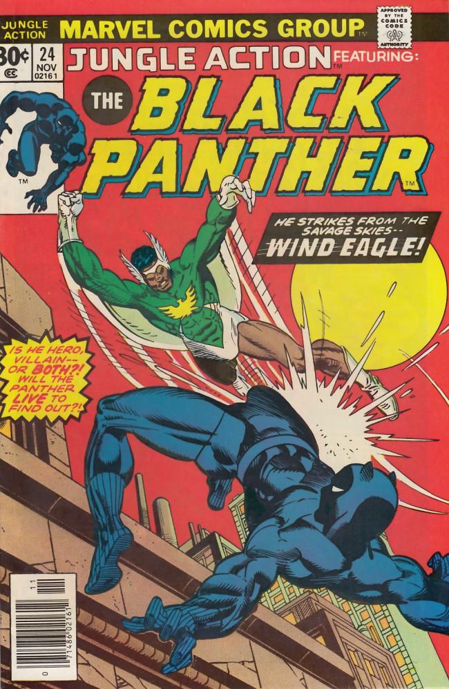 Couverture de Jungle action (1972) -24- Wind eagle in fight