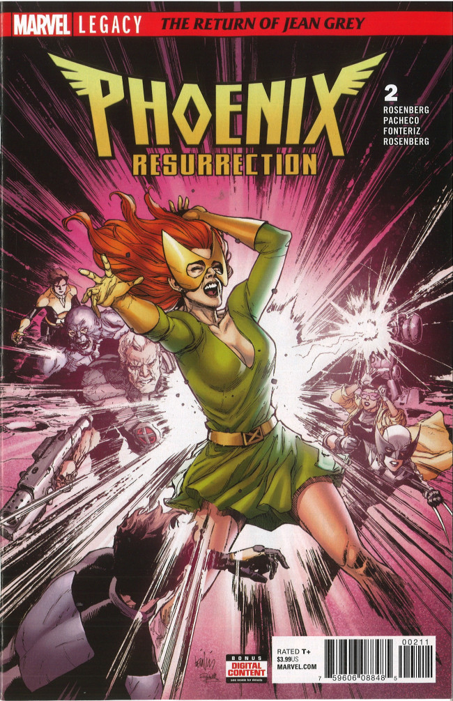 Couverture de Phoenix Resurrection: The Return of Jean Grey (2017) -2- Chapter Two: All Lesser Birds