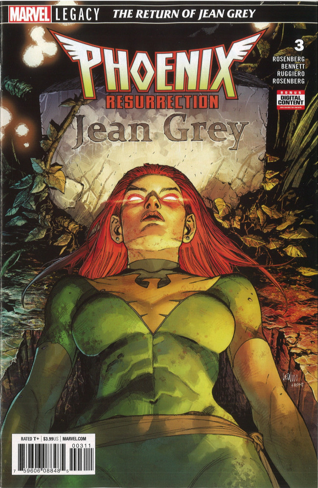 Couverture de Phoenix Resurrection: The Return of Jean Grey (2017) -3- Chapter Three: A Constellation of them All