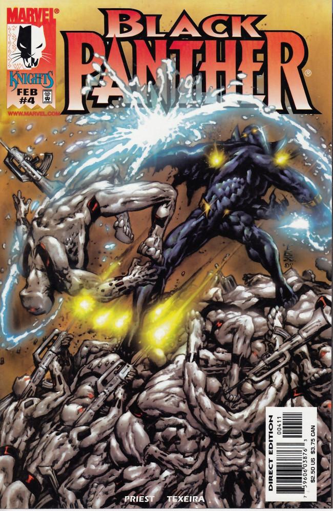 Couverture de Black Panther Vol.3 (Marvel - 1998) -4- The price